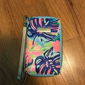 Lilly Pulitzer Wristlet -  Never Used